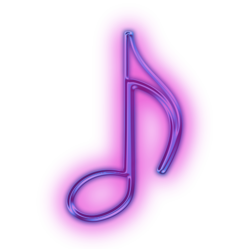 Neon clipart music note Icon Eighth Etc musical »