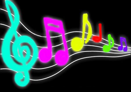 Neon clipart music note LanaAsahi Neon Neon Notes LanaAsahi