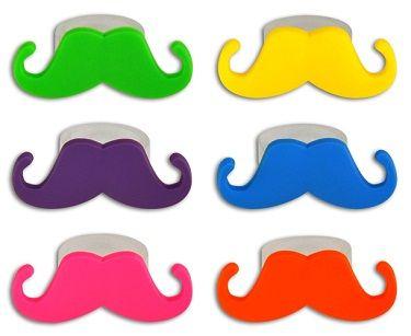 Neon clipart mustache #5