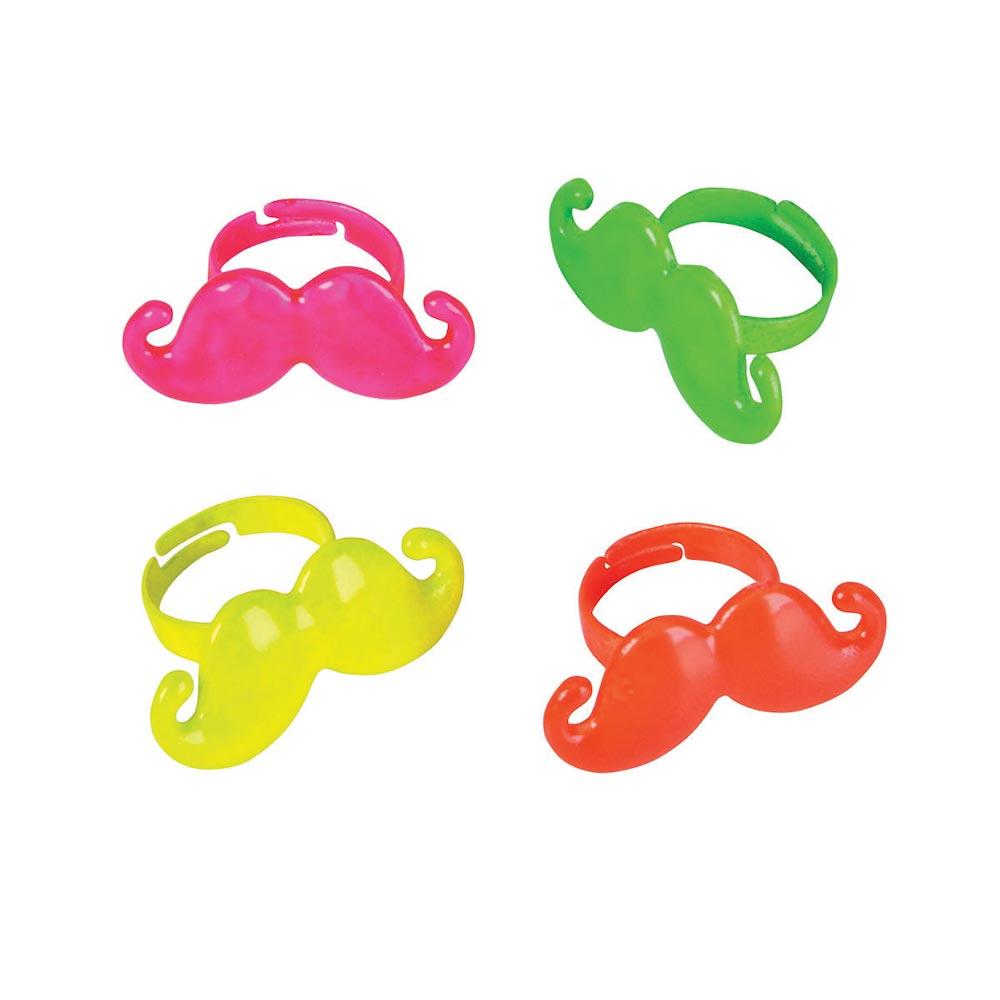 Neon clipart mustache #2