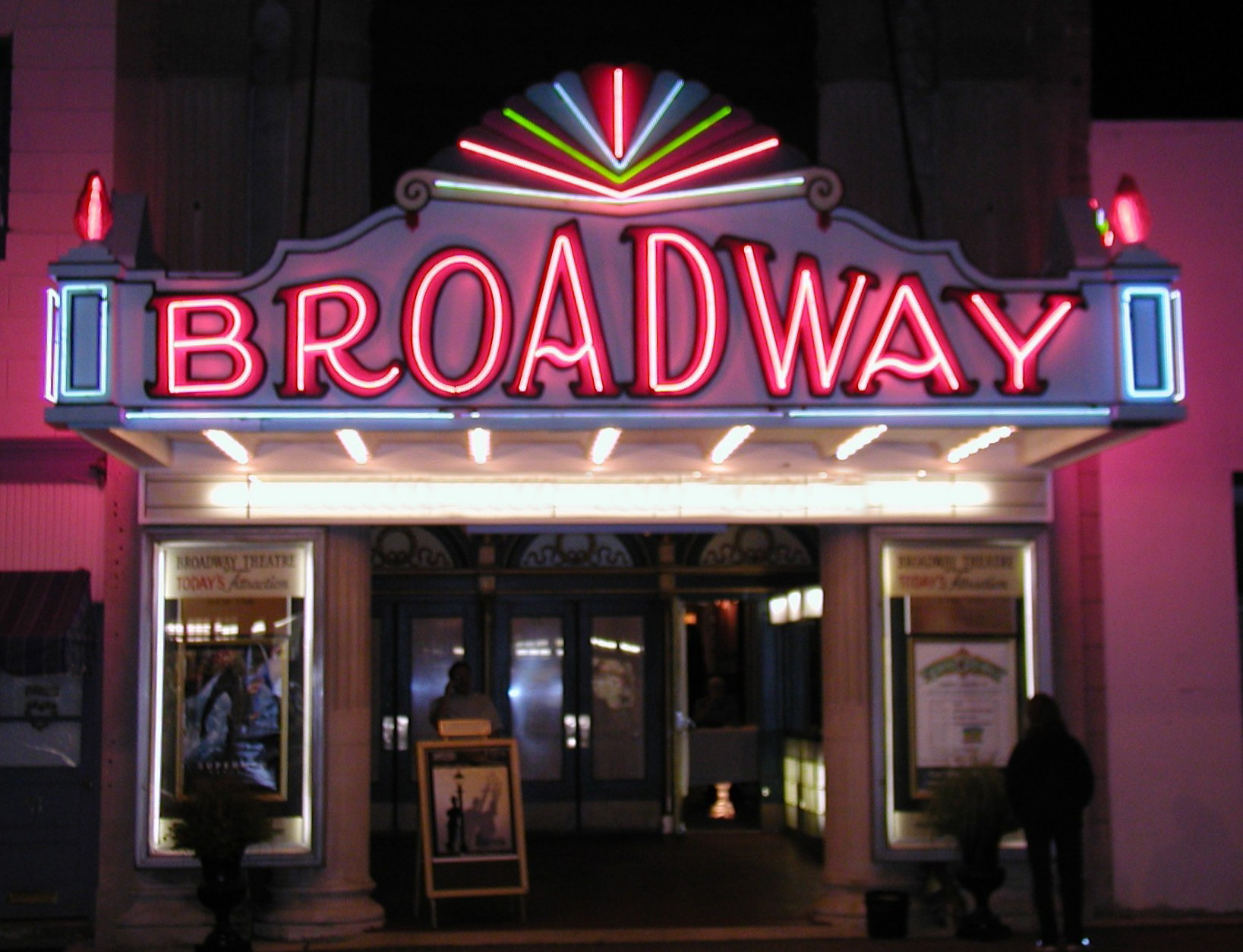 Neon Sign clipart broadway theatre First June The Broadway Since