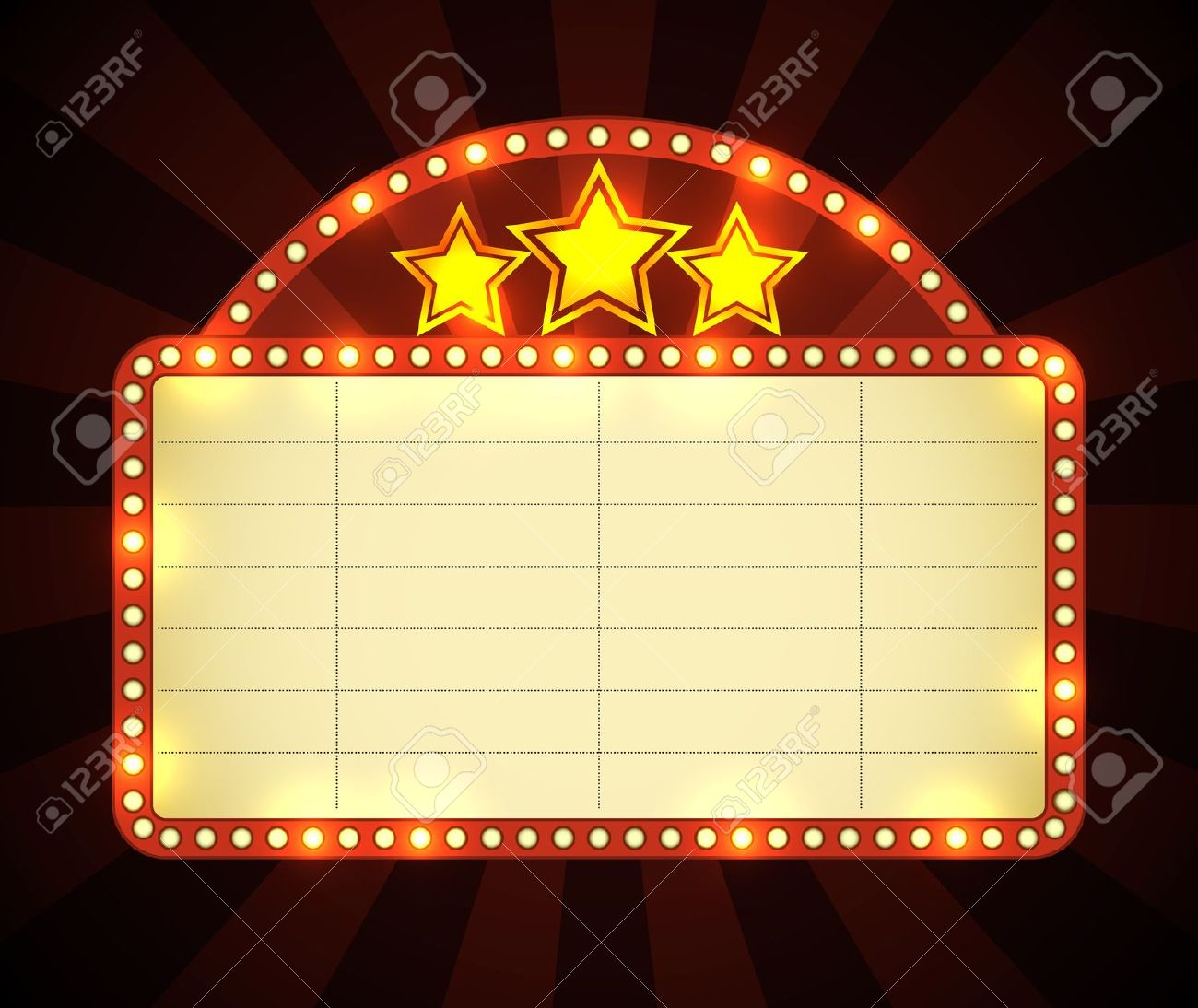 Neon Sign clipart broadway theatre Glowing Cinema Royalty  Free