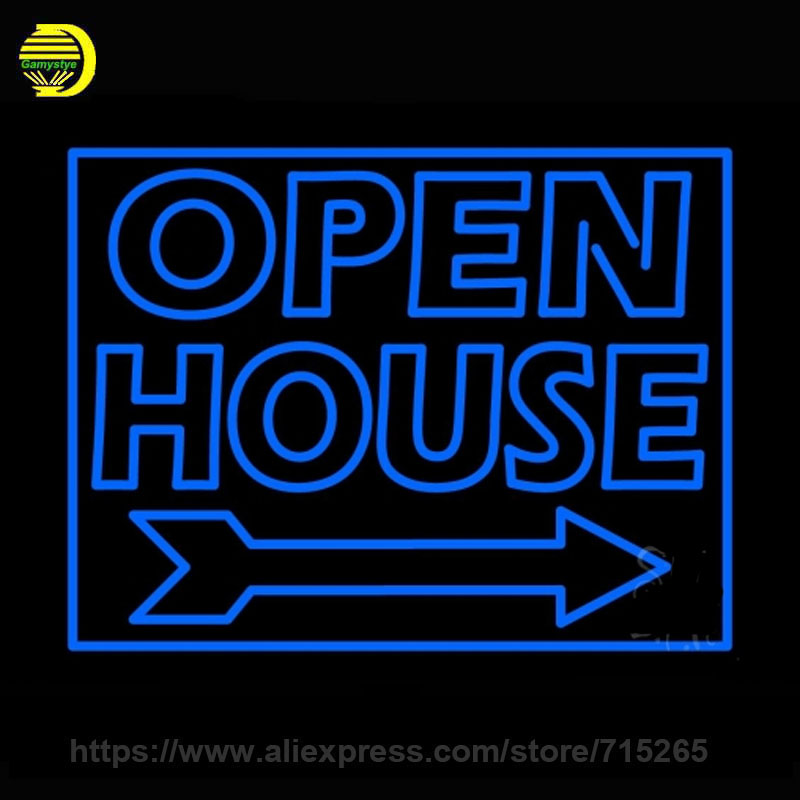Neon Sign clipart business open Sign for Estate handmade Sign
