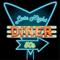 Neon Sign clipart diner Retro Sign Diner vectors Diner