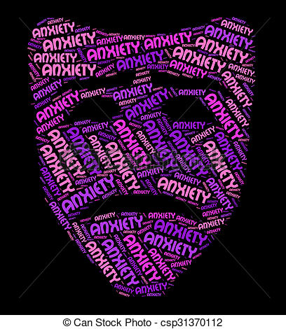 Nerves clipart anxiety Word Represents And Unease Foreboding