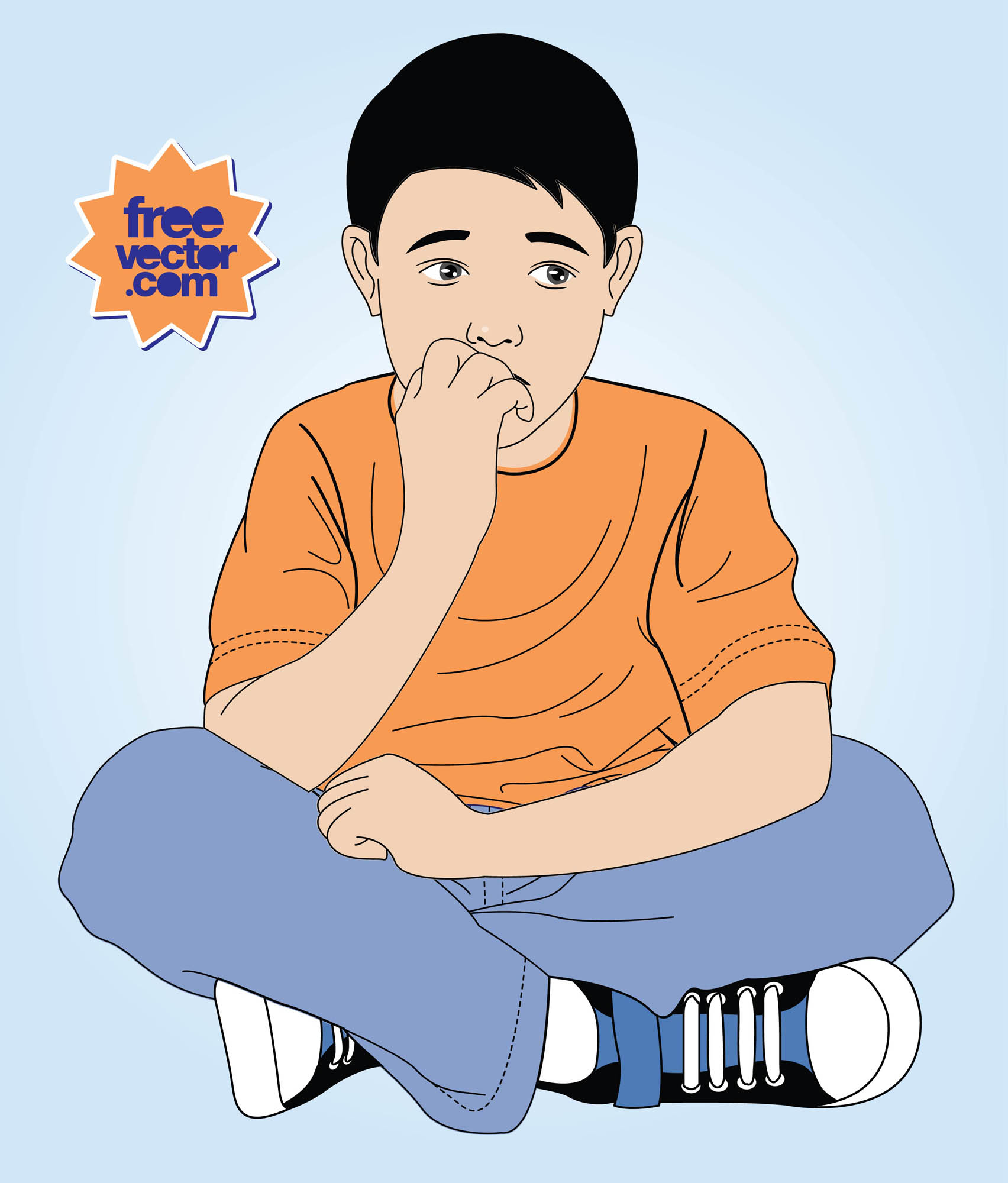 Nerves clipart anxiety Kid on  Clip Clipart