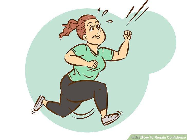 Nerves clipart lack confidence Regain Confidence Regain to Step