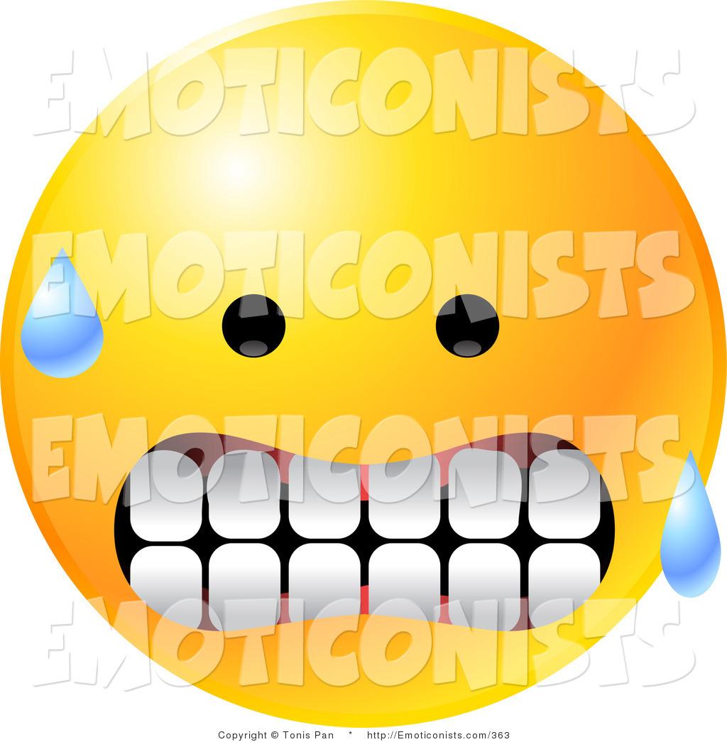 Smiley clipart nervous Smiley Nervous Face cliparts Nervous