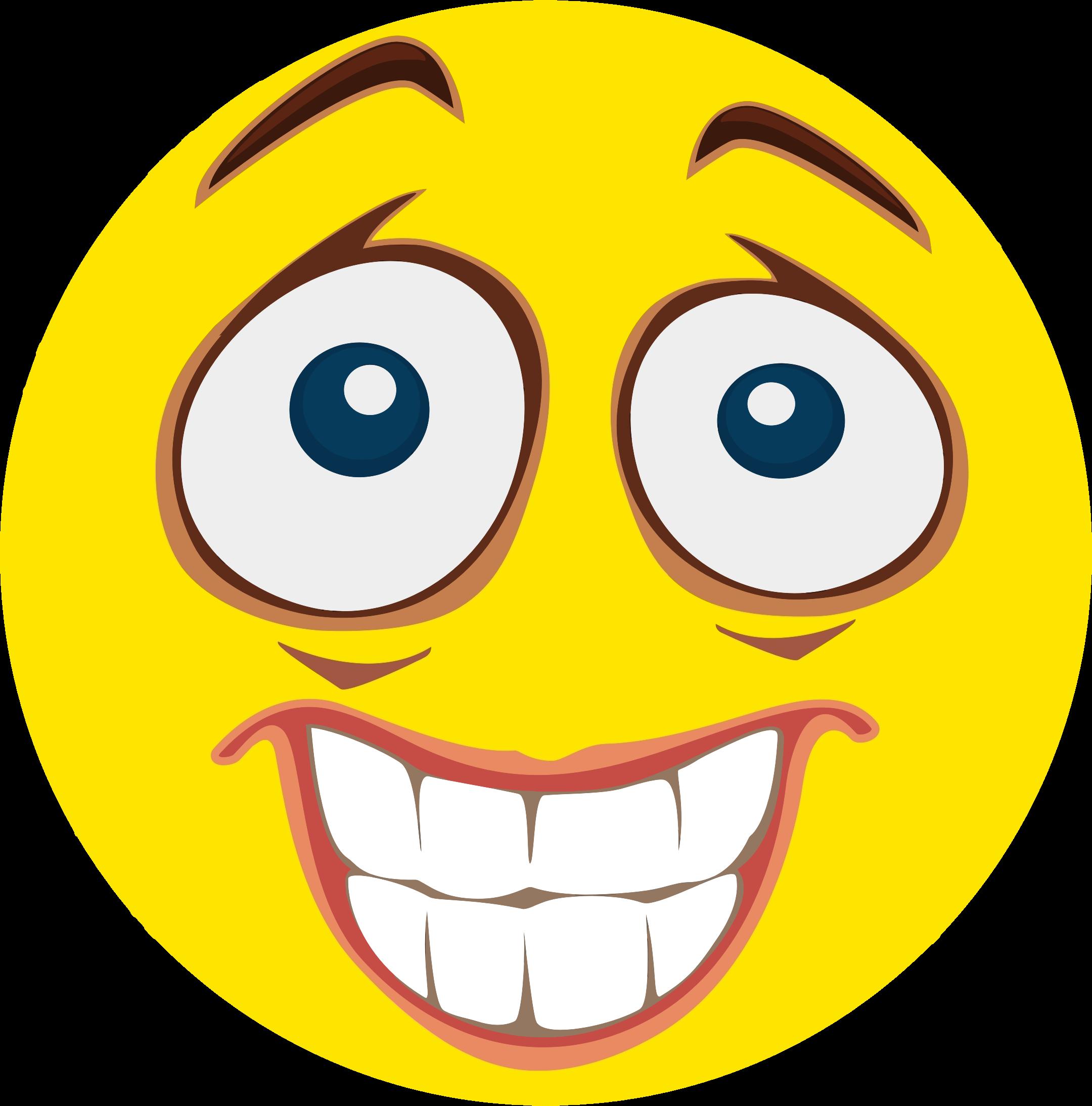 Smiley clipart nervous Smiley Nervous Clipart Smiley Nervous