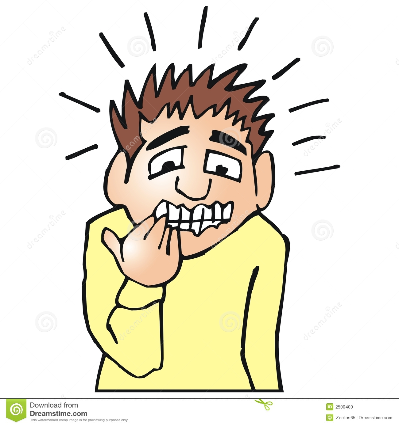 Nerves clipart sick student Nervous Kid Gallery Clipart http://www