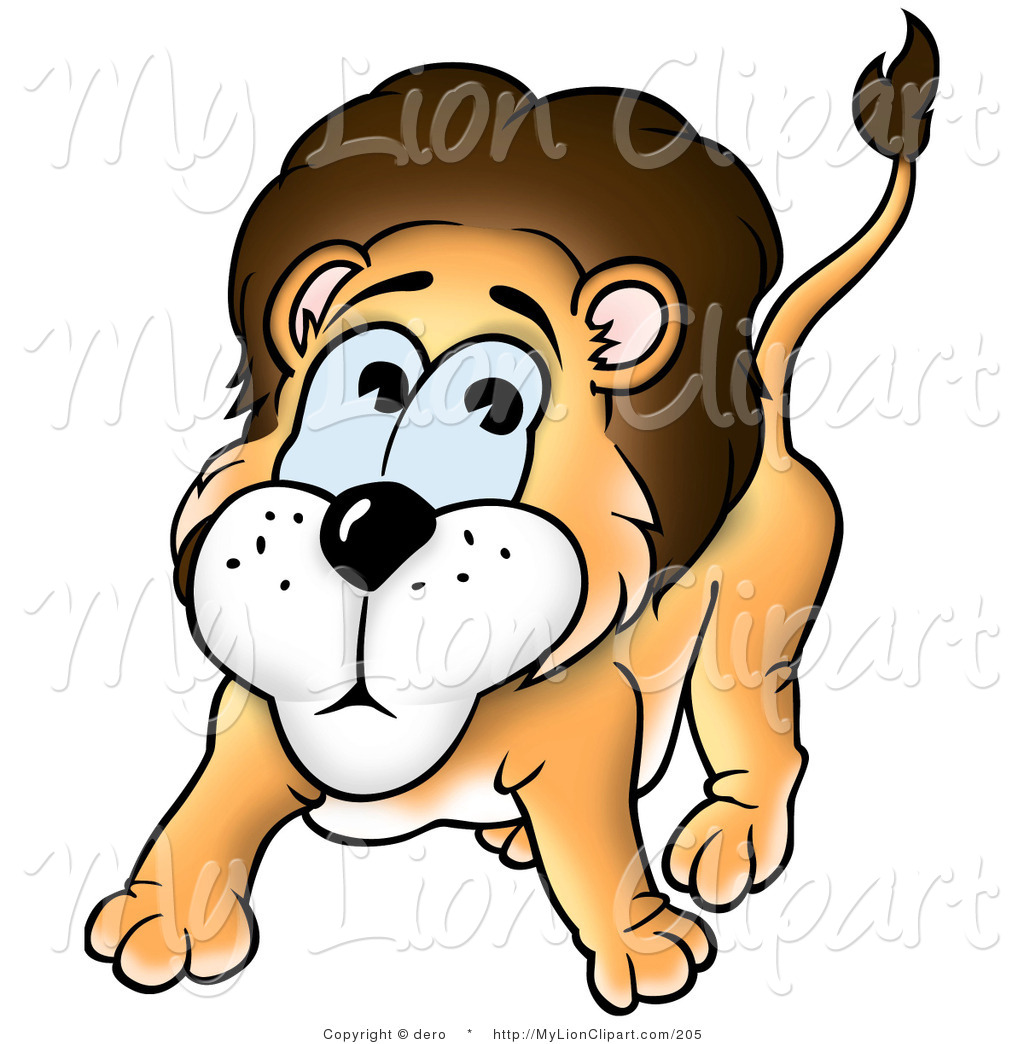 Nerves clipart human cell A Scared Lion Nervous Clipart