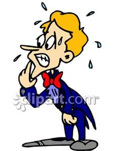 Nerves clipart sick student Clipart Groom Free Picture Nervous