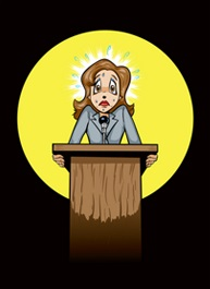Nerves clipart stage fright Art Judy Coaching of Clip