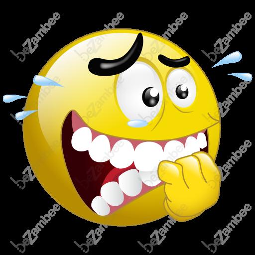 Smiley clipart nervous Smiley Clip Face Stressed nervous
