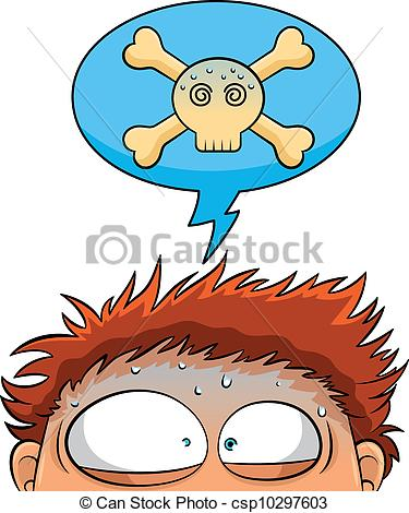 Nerves clipart stressed Stressed out Vector stressed with