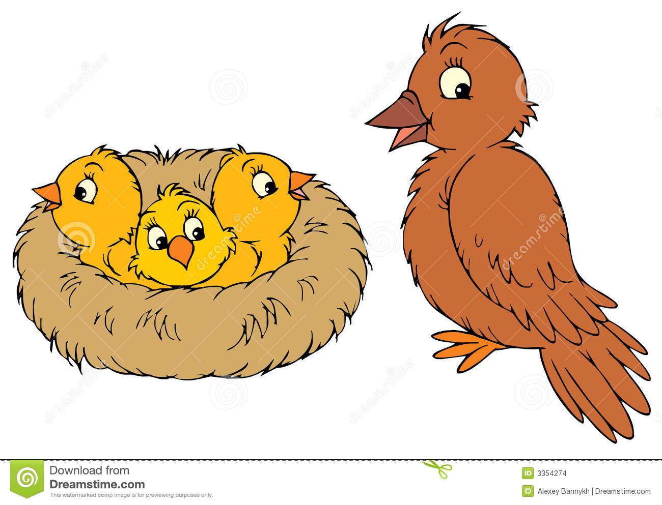 Bird's Nest clipart Nest Bird Clip And nest