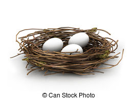 Nest clipart Clipart Egg being protected Illustrations
