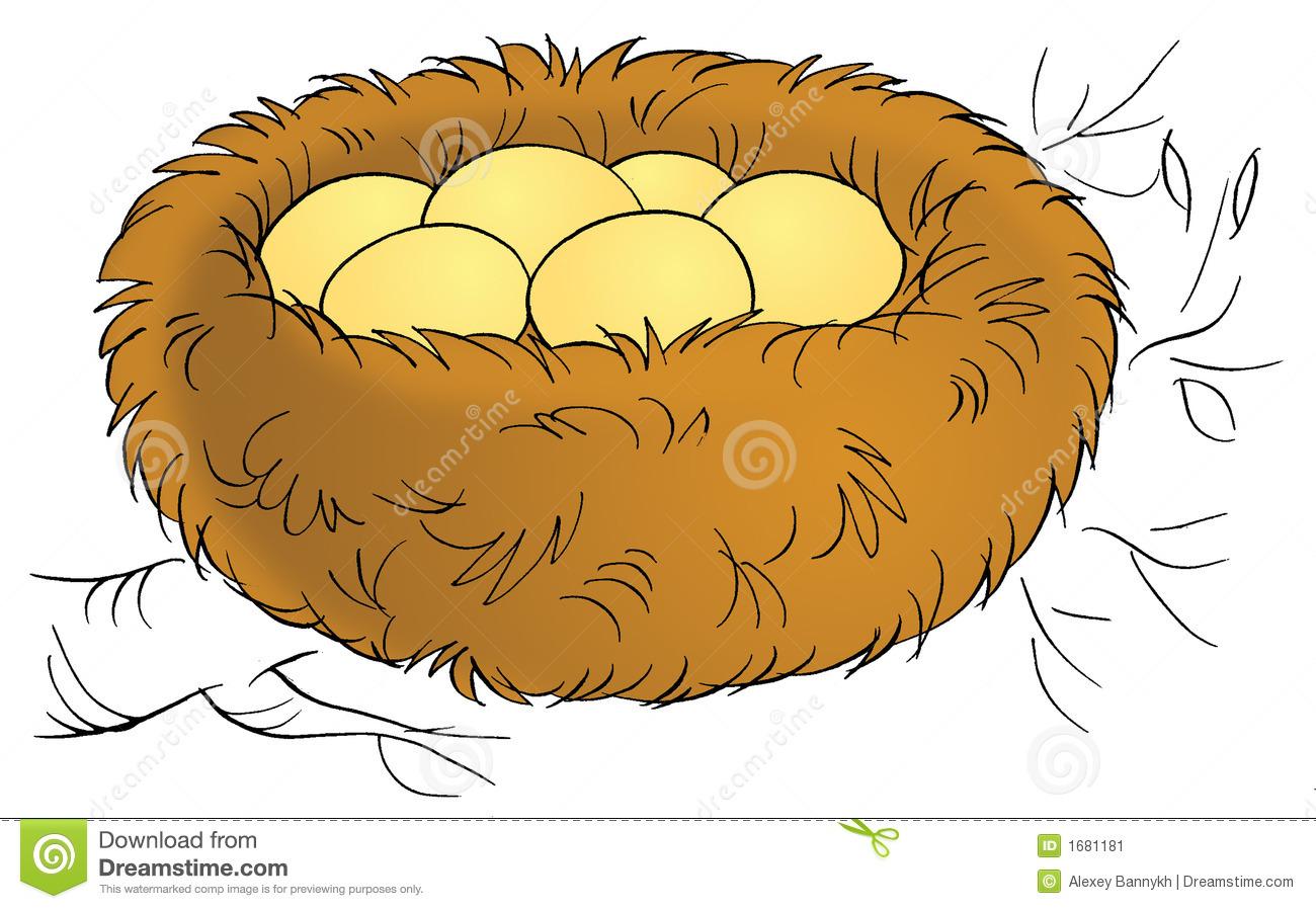 Line Art clipart nest Art Nest 97 Free Image