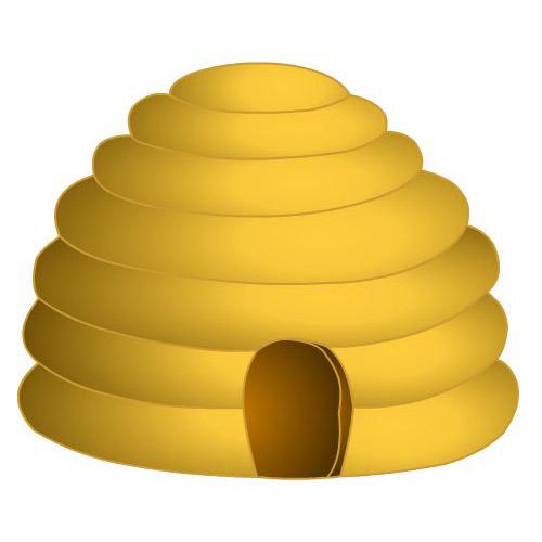 Bee Hive clipart honeycomb Clipart Images Beehive Art com