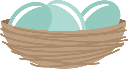 Nest clipart cute With Clipart Clip on Clipart