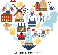 Netherlands clipart spring season Royalty Heart Netherlands Netherlands travel