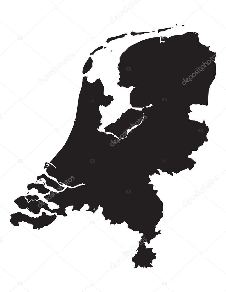 Netherlands clipart black and white Netherlands white #37948445 of chrupka