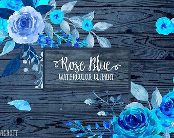 Netherlands clipart blue rose Roses Clipart CornerCroft Painted Clip