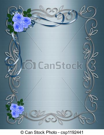 Blue Rose clipart ribbon Roses Roses Blue Clipart Illustrated