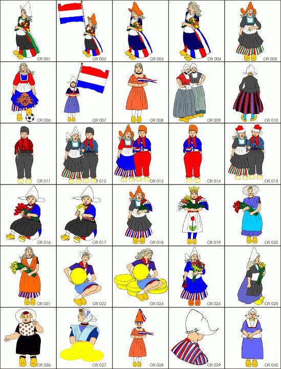 Netherlands clipart march break Holland best costumes images Pinterest