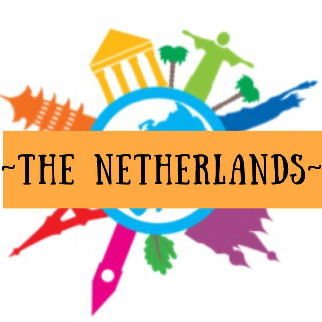 Netherlands clipart march break Tulips of Netherlands canals windmills