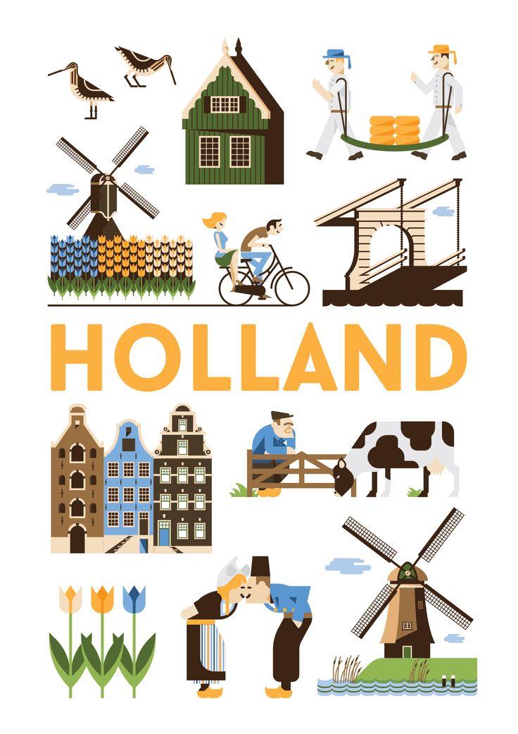 Netherlands clipart march break Online op: kunstposter Amsterdam https://www