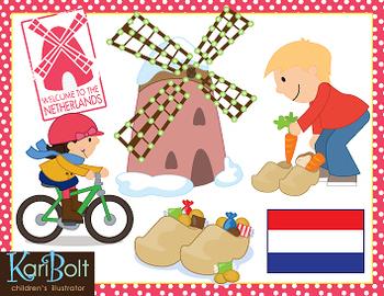 Netherlands clipart netherlands Teachers World Clip Netherlands/Holland Around