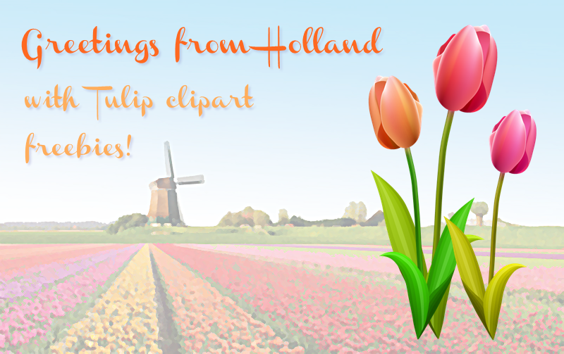 Netherlands clipart spring tulip Freebie Fridays Tulips from #44
