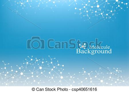 Neuron clipart atoms and molecule Vector lines of  Concept
