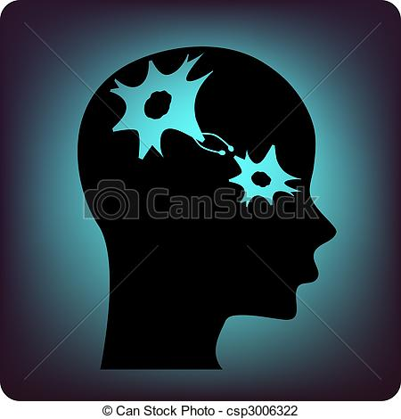 Neuron clipart psychology brain Brain in csp3006322 of connecting