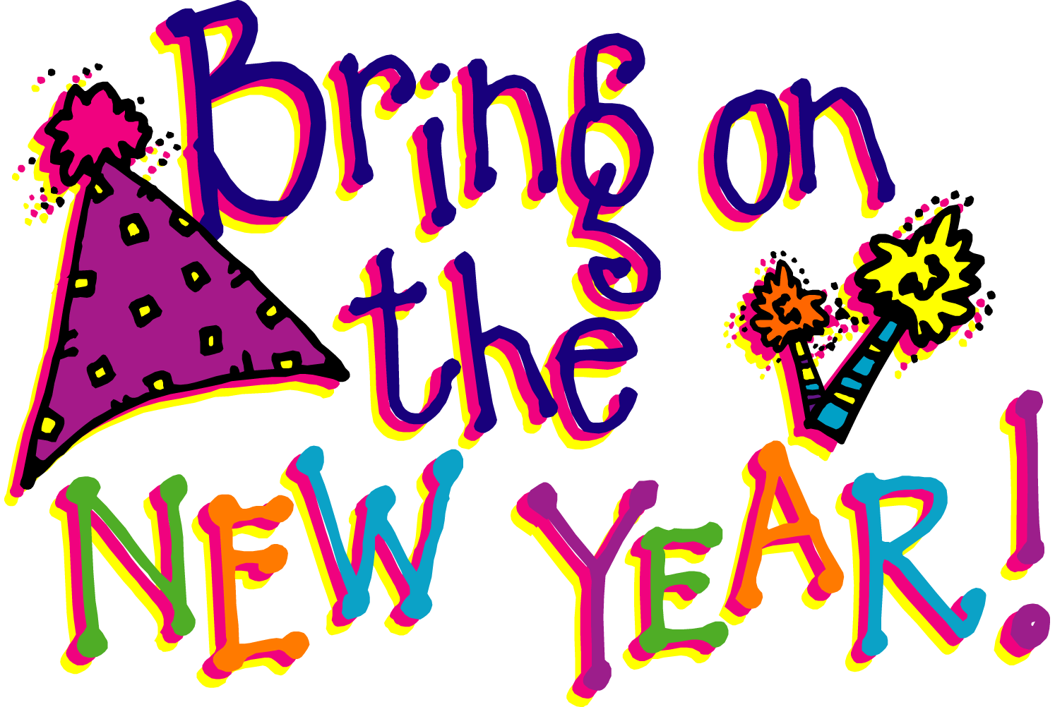 New Year clipart Year Happy year year year