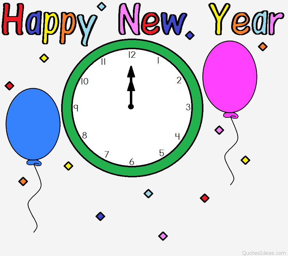 Small clipart happy new year Year art Free 2016 clip