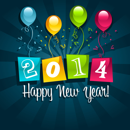 New Year clipart 2014happy – Happy 2014 Year Year