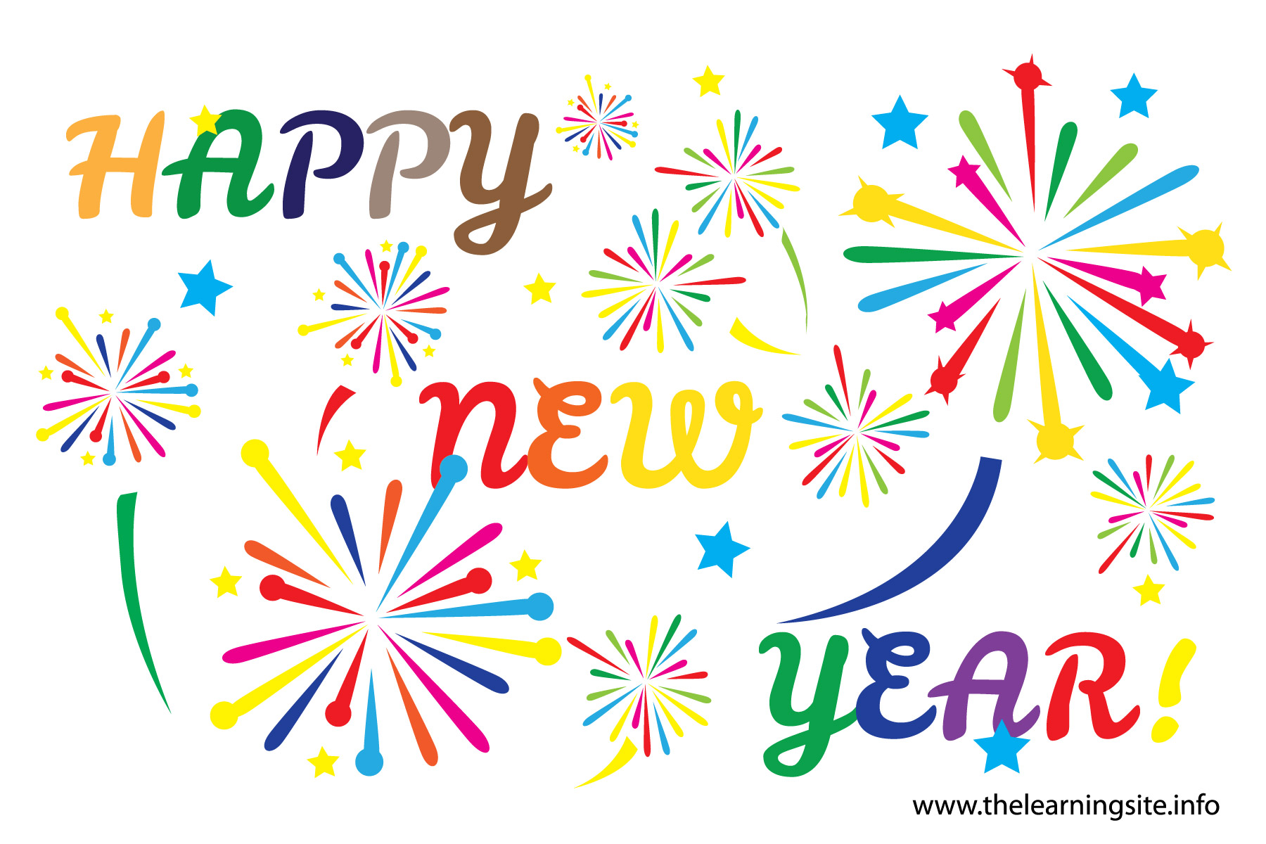 Fireworks clipart happy new year Clipart 5 com Year Happy