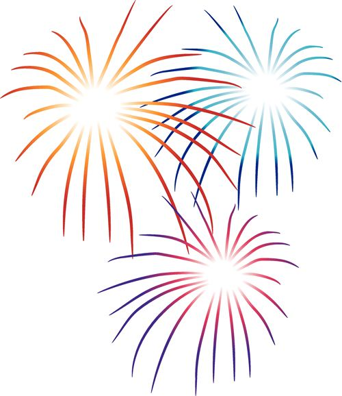 Fun clipart new year firework Happy Year com new clipartix