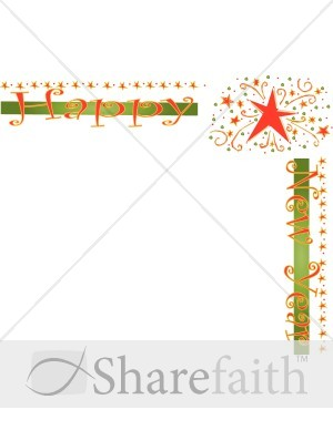 New Year clipart border Years Border Christian New Year