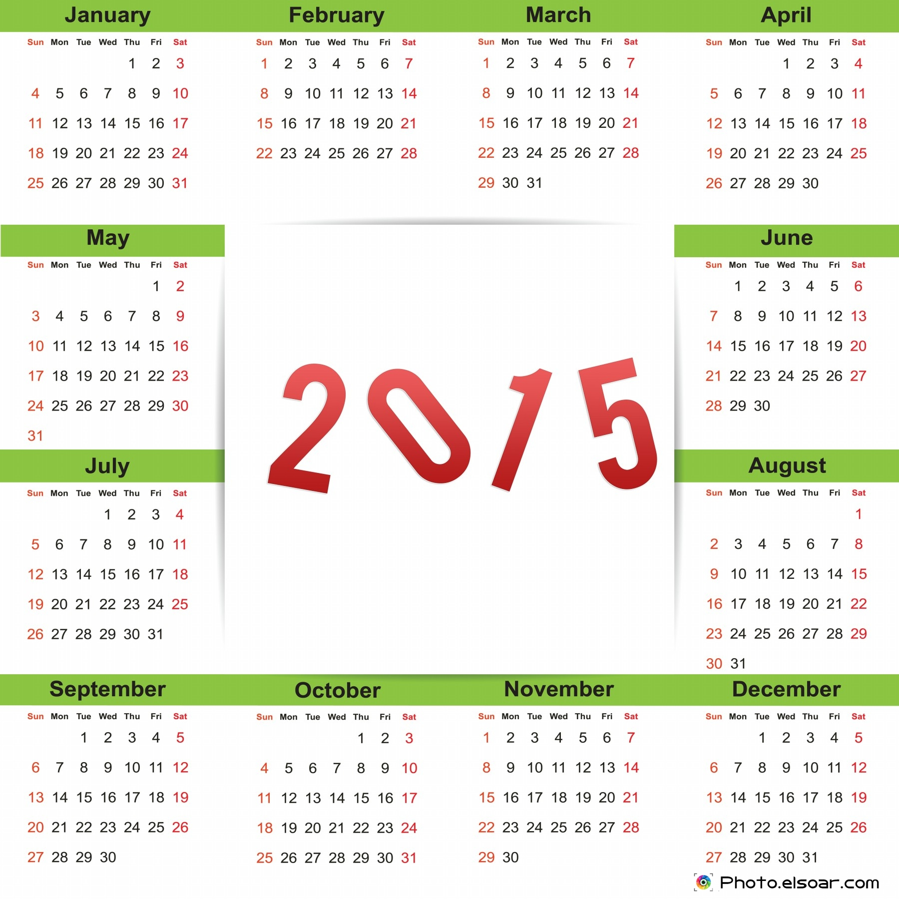 New Year clipart calendar Design Calendars Elsoar (Clip Calendar