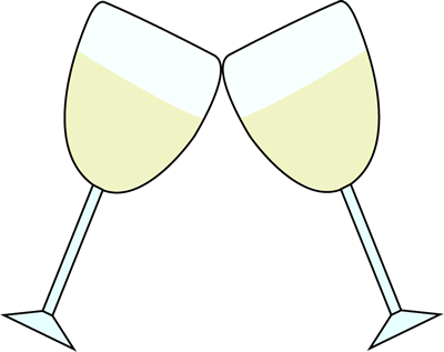 Champagne clipart animated Champagne Year · Clip New
