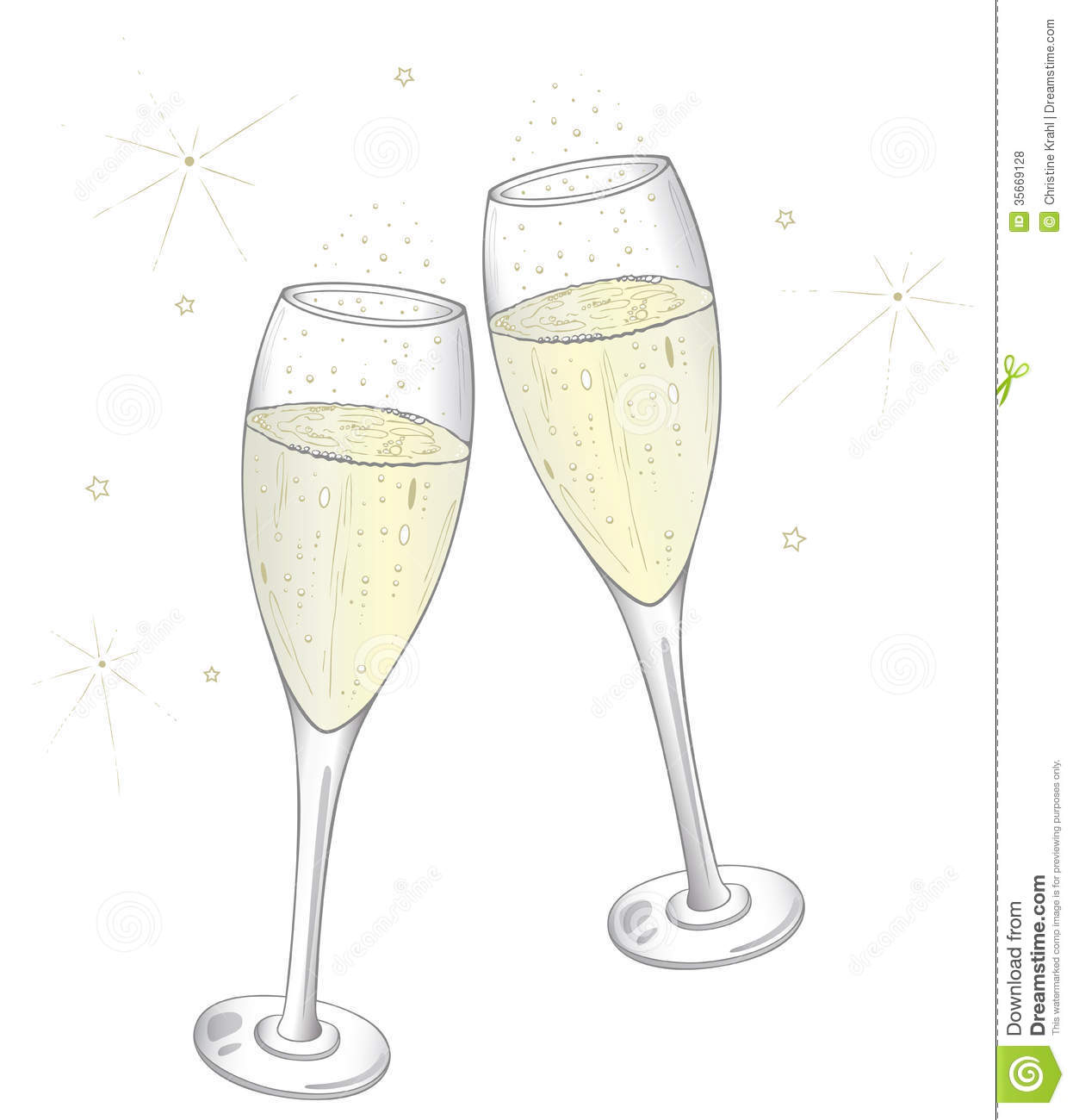 Silver clipart champagne glass Glass Champagne (55+) year Glass