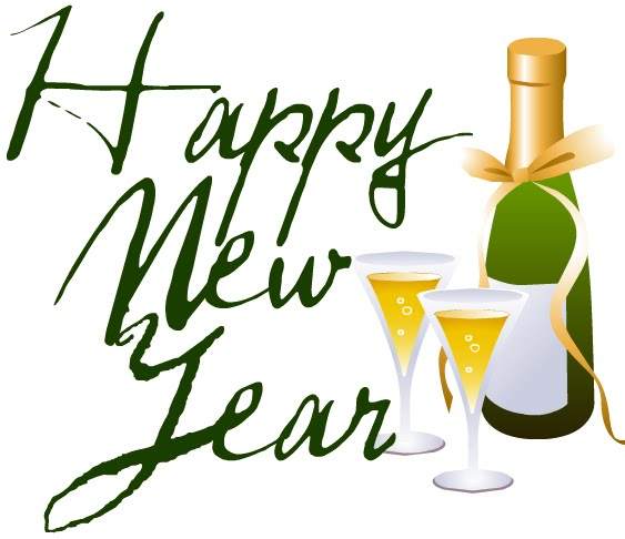 Champagne clipart happy new year Animated New Clipart  Happy