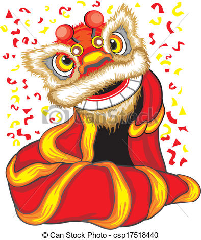 Asians clipart chinese dragon parade Csp17518440 dance EPS Barongsai Dragon