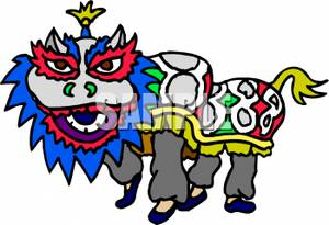 Chinese Dragon clipart chinese new year celebration A New Year Dragon Clipart