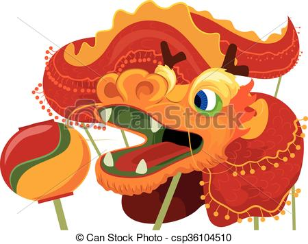 Chinese Dragon clipart chinese new year celebration Chinese New Clip Art of