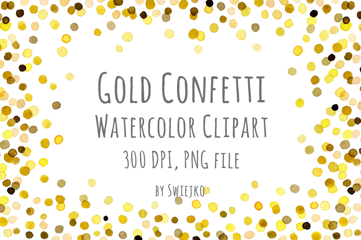 New Year clipart confetti Clipart New Year Digital Clipart