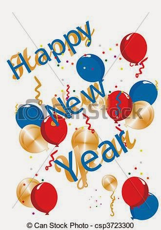 New Year clipart cute Cliparts image Year 2015 Happy